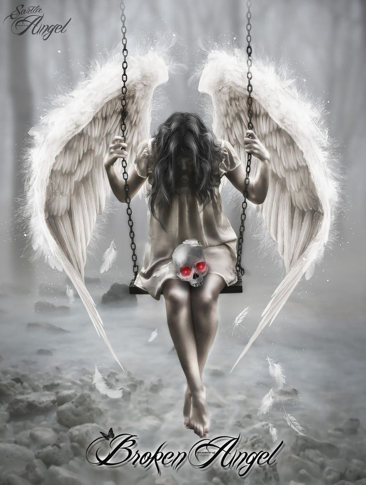 Broken Angel by saritaangel07.deviantart.com on @DeviantArt