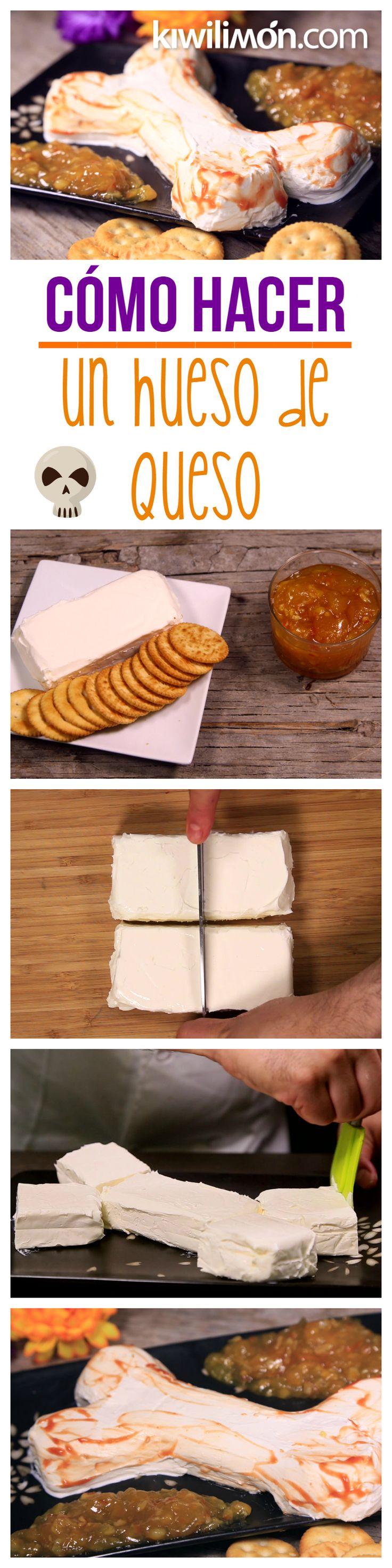 Te presentamos el paso a paso de una deliciosa y divertida botana de queso crema en forma de hueso, ideal para la temporada de Halloween. Es muy fácil de elaborar, es una actividad perfecta para hacerlo con los más chicos de la casa.