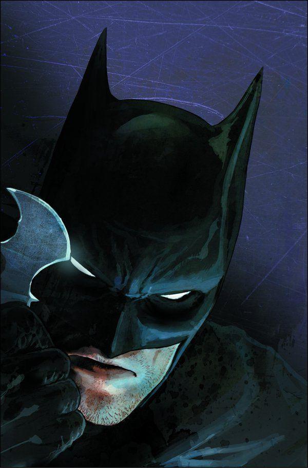 Batman Rebirth cover art