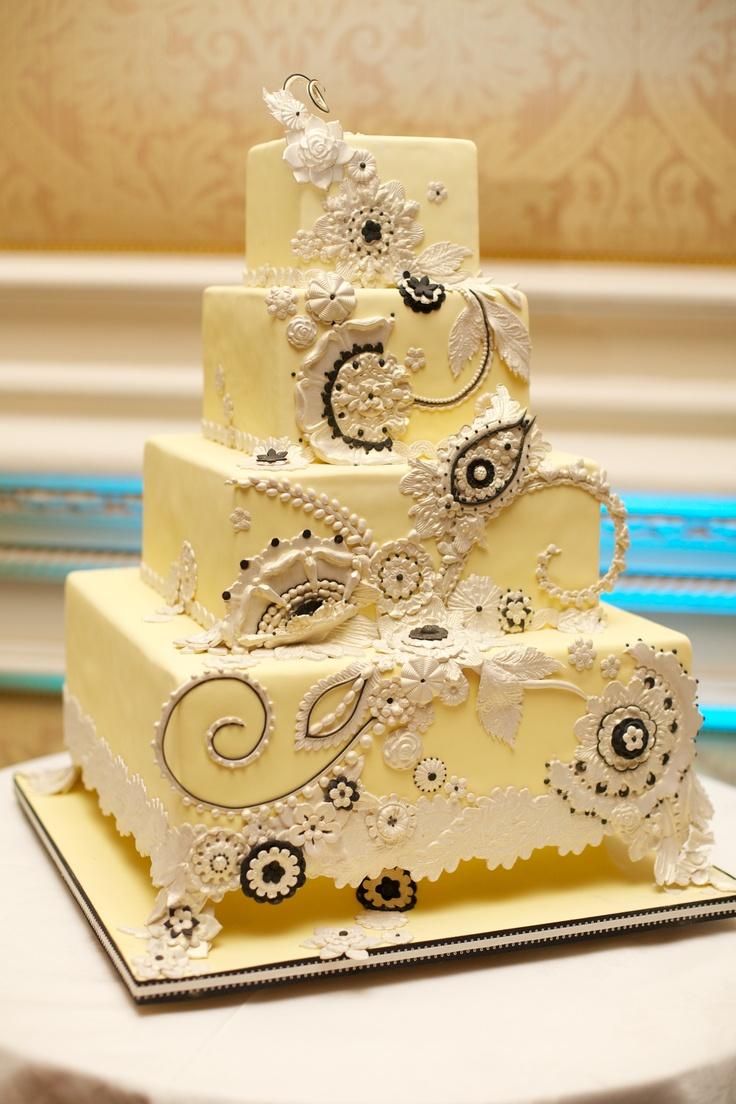 Best wedding cakes long island - Garden City Hotel Custom Wedding Cake