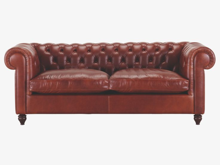 ii browns leather tan leather three seat sofa habitatuk