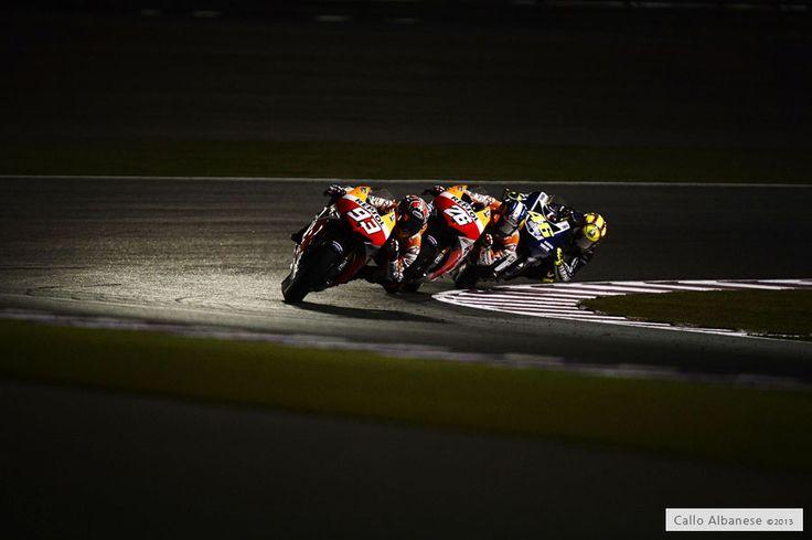 Marquez, pedrosa and Rossi
