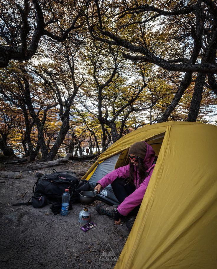 Patagonian camp life