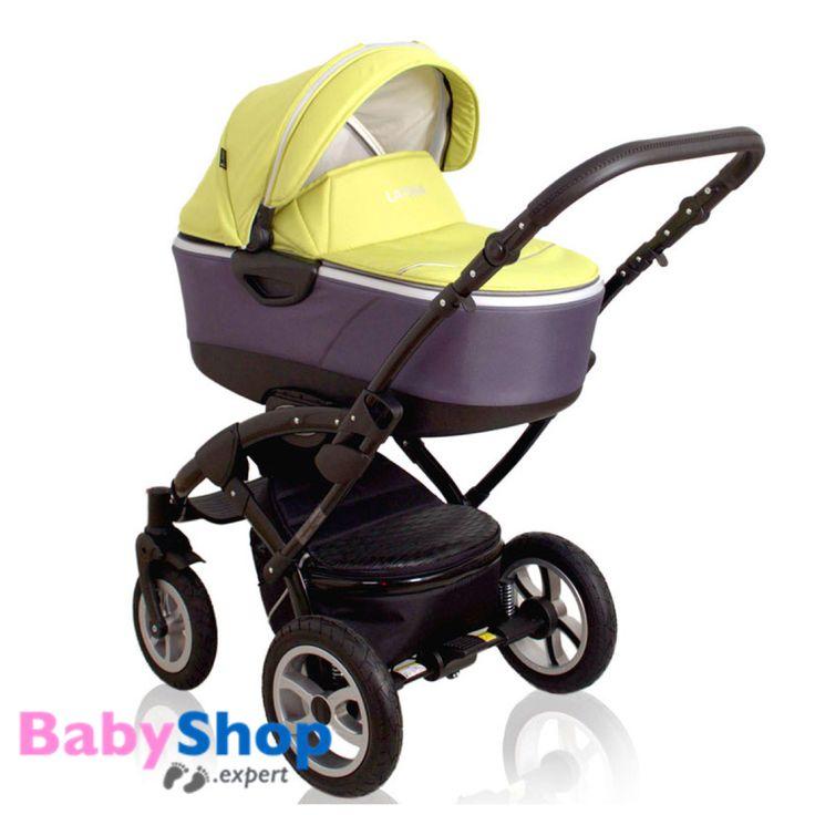 Kombikinderwagen 3in1 Latina kompakt mit Babyschale - limon  http://www.babyshop.expert/Kombikinderwagen-3in1-Latina-kompakt-mit-Babyschale_4  #babyshopexpert #kombikinderwagen #kinderwagen #babyschale