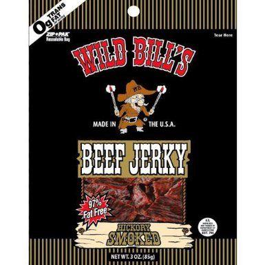 wild bill's beef jerky <3
