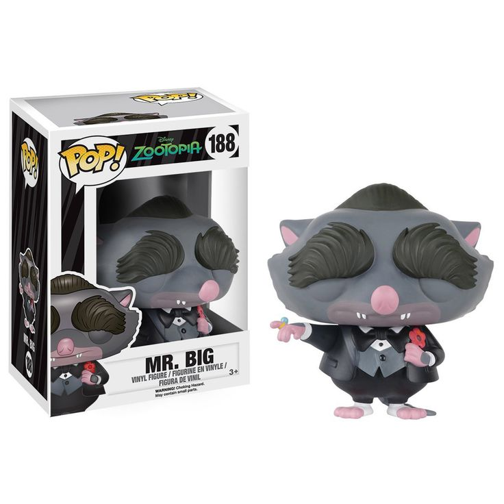 Funko Disney Zootopia POP Mr. Big Vinyl Figure - Radar Toys