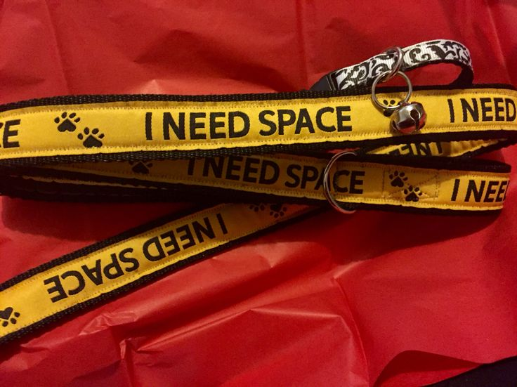 I need space lead ribboned on both sides. Fantastic for nervous or reactive dogs, teamed with a D-Ring to hang your poo bags from a design unique to Nana Nic Creations.