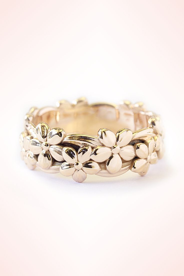 gold ring express sale shipping wedding band filigree women unique rings yellow media bands