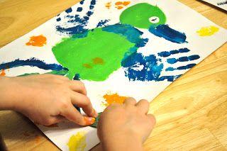 God's Little Explorers:handprint quail: Motherhood on a Dime