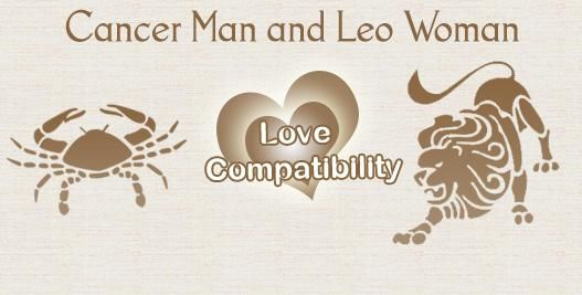 leo woman dating cancer man