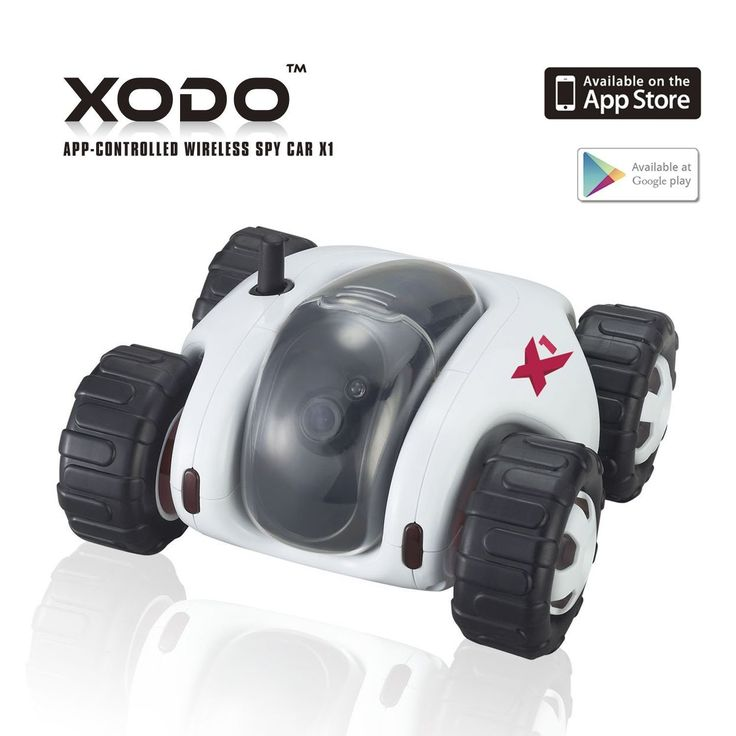 XODO Wifi Controlled Spy Rover RC Tank with Vedio Camera