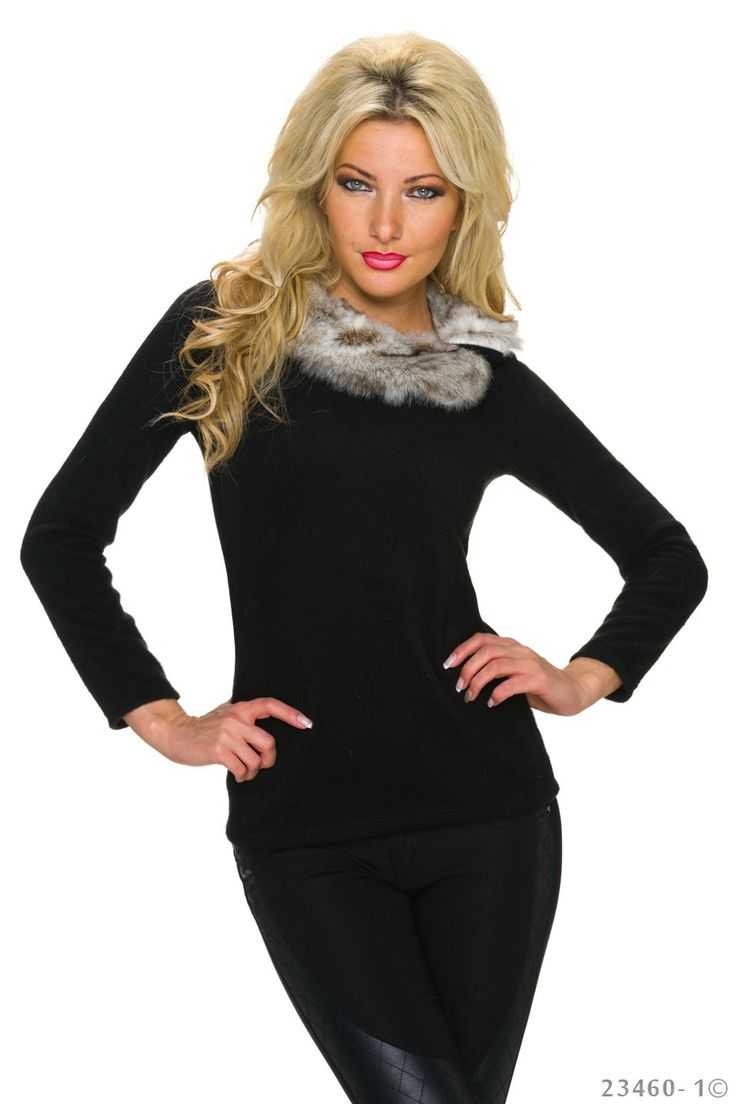 Elegant Lady Black Sweater