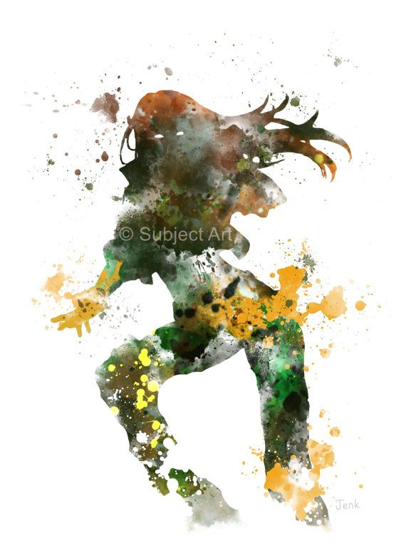 Rogue, X-Men ART PRINT illustration, Superhero, Home Decor, Wall Art, Avengers, Marvel