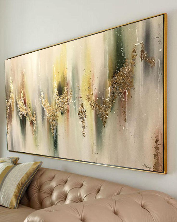 New York abstrakte Stadtbild Acrylmalerei auf Leinwand, abstrakte Malerei, Kunstwerke Original, Stadtbild Malerei auf Leinwand von Julia Kotenko