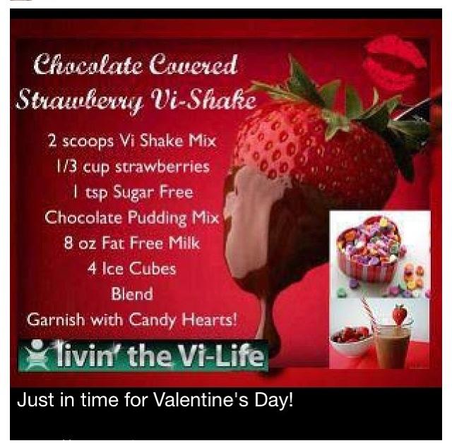 Valentines vi shake recipe  ❤