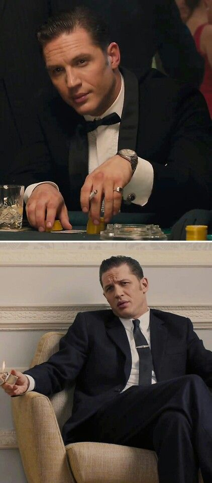 Tom Hardy gets home from an evening out and his tuxedos beg him never to take them off again. I'm just sure of it.