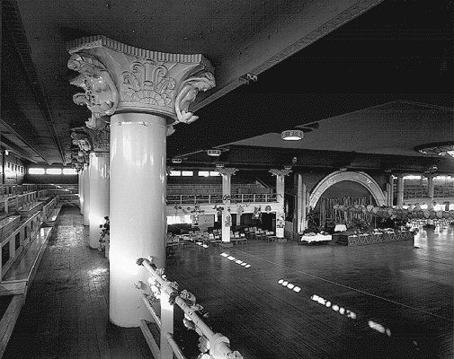 Camp Luna Park, Cloudland Ballroom, Brisbane, QLD during WW2