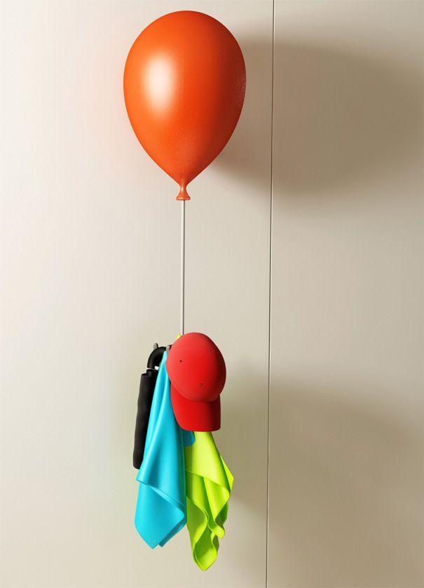 balloon coat hanger