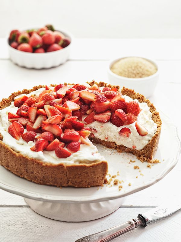 Strawberry mascarpone tart by  okuchnia 2