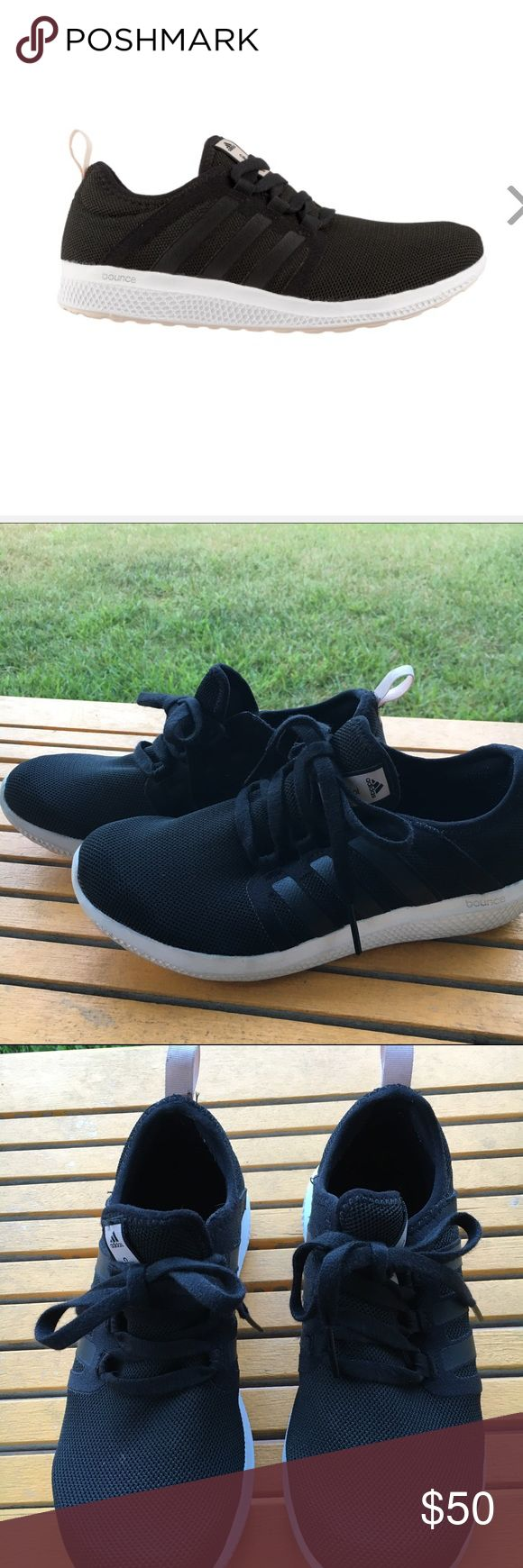 ✨BLACK ADIDAS BOUNCE RUNNING SHOE✨ comfy casual & versatile shoe✨ adidas Shoes Athletic Shoes