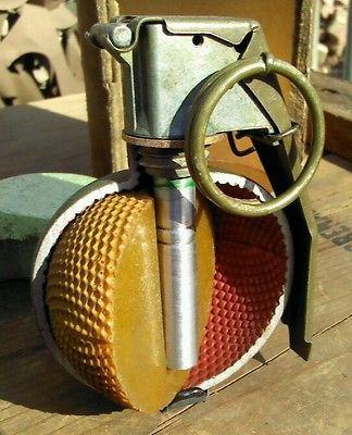 Cutaway m67 grenade