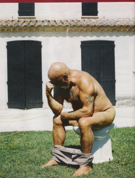 Pierre Pinoncelli dans sa maison de Saint-Rémy-de-Provence | 2006