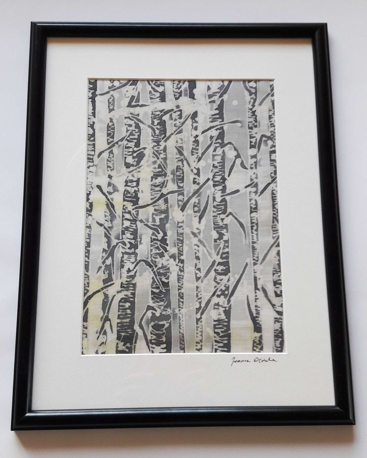 Batik 53, wymiary płótna 20x29 cm , wymiar ramki 32x42 cm