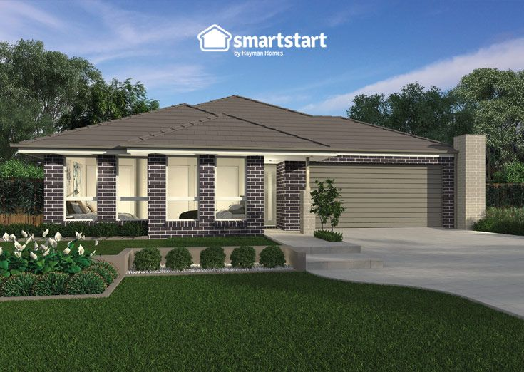 Multi Gen Living Three with Classic Facade   Welcome your guests with this stylish facade!  #firsthomebuyer #smartstart #smartstarthomes #streetappeal #streetappealideas #streetappealaustralia #streetappealaustraliafrontyards #streetstyle #facadehousesinglestorey
