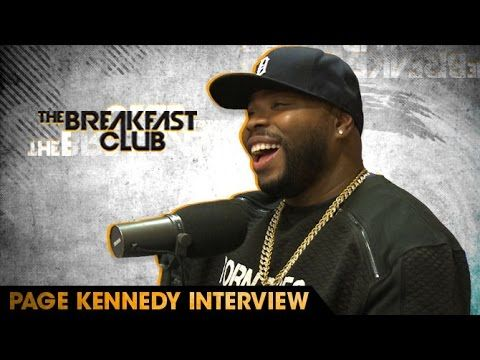 Page Kennedy Brings Bars & Shakespearean Monologues To The Breakfast Club