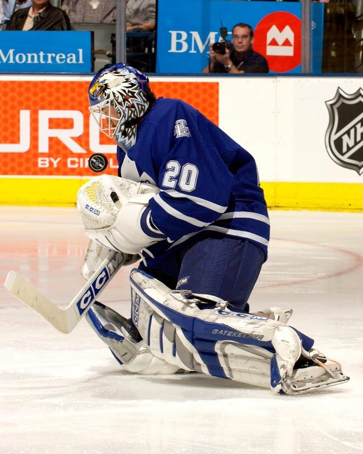 Ed Belfour w/ the Toronto Maple Leafs