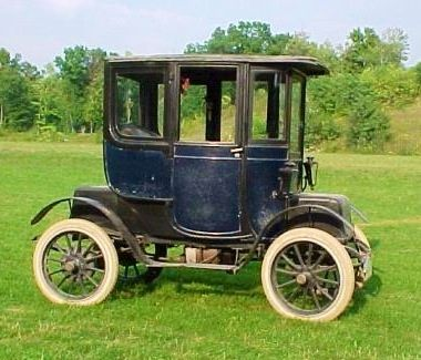 """1911 Baker Electric car....Still runs. Ironic that electric cars are now """"cars of the future""""."""