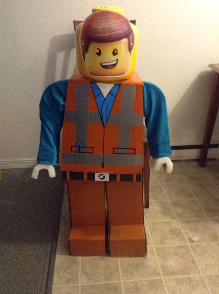 Emmet lego movie costume completed | Lego movie Emmet costume i made for my little man for halloween ) | Pinterest | Lego movie and Emmet lego & Emmet lego movie costume completed | Lego movie Emmet costume i made ...