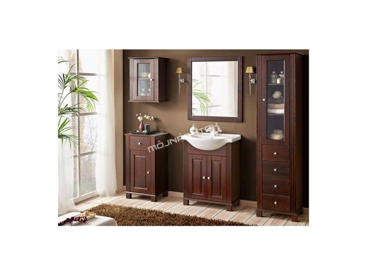 Krásna klasická kúpeľňová zostava RETRO v elegantnom farebnom prevedení.