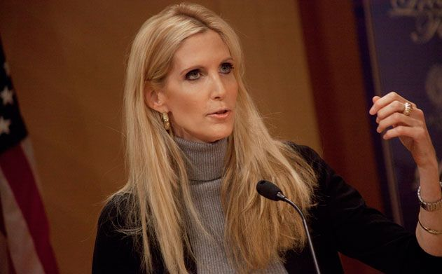 ann colter | Conservative columnist and author Ann Coulter came to Georgetown to ...