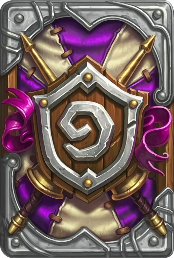 Card Back: The Grand Tournament Artist: Blizzard Entertainment