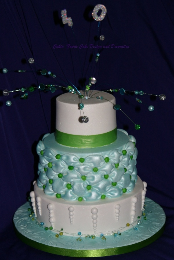 21 best images about billowed fondant on pinterest - Jewel cake decorations ...