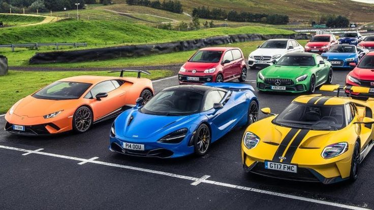 The Final 7 Cars - Performance Car of the Year 2017 - Top Gear