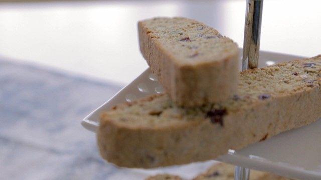 Biscottis aux pistaches