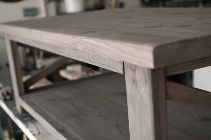 Great tutorial for how to oxidize wood with vinegar and steel wool for a beautiful Restoration Hardware type finish.