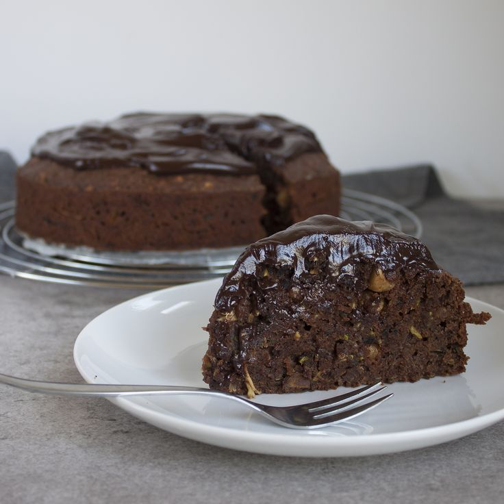 Chocolade courgette cake - demeesterlijkekeuken