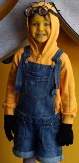 Faire un déguisement de Minion Halloween