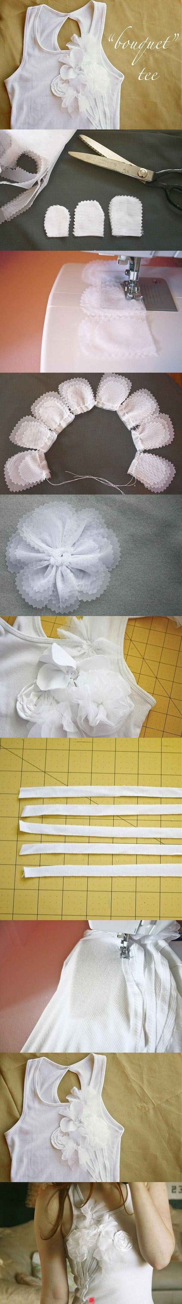 DIY Tee Shirt crafts craft ideas easy crafts diy ideas diy crafts diy clothes…
