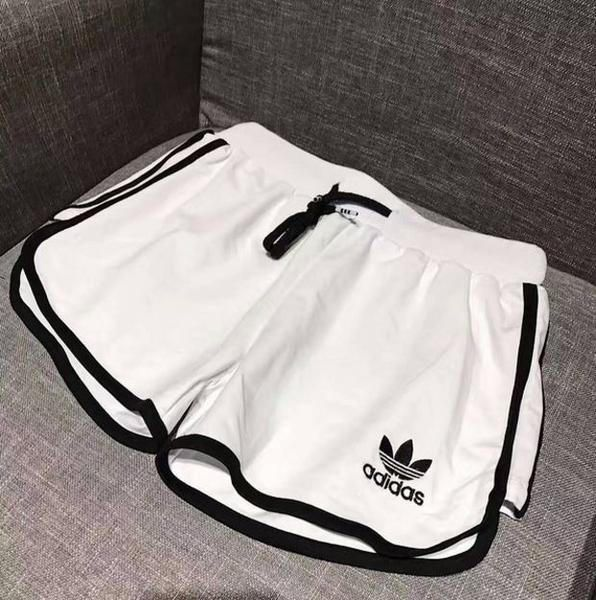 Adidas Woman Fashion Drawstring Gym Yoga Sports Running Shorts from Best Seller.