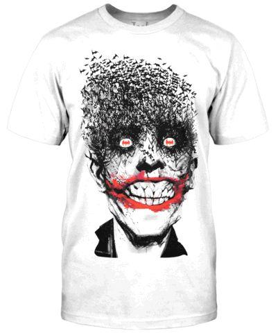 The Joker Tee Designs from jackofalltradesclothing.com - fancy-tshirts.com I LOVE THE Joker!!