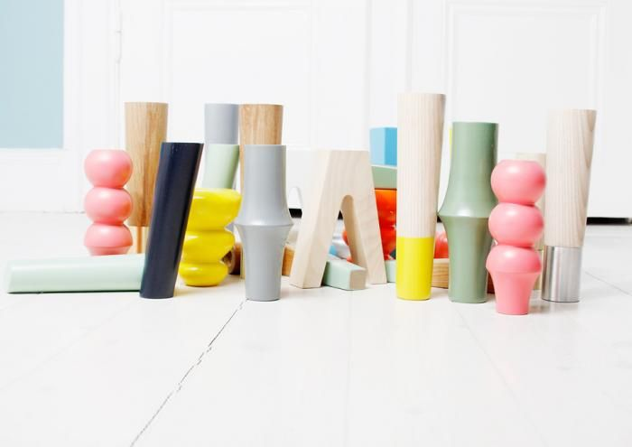 Wish I had thought of this! Pretty Pegs, an online shop offering a leg collection that works as an alternative to the standard Ikea legs