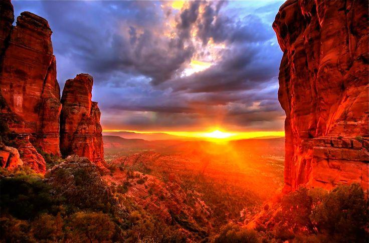 sedona sunset - AZ