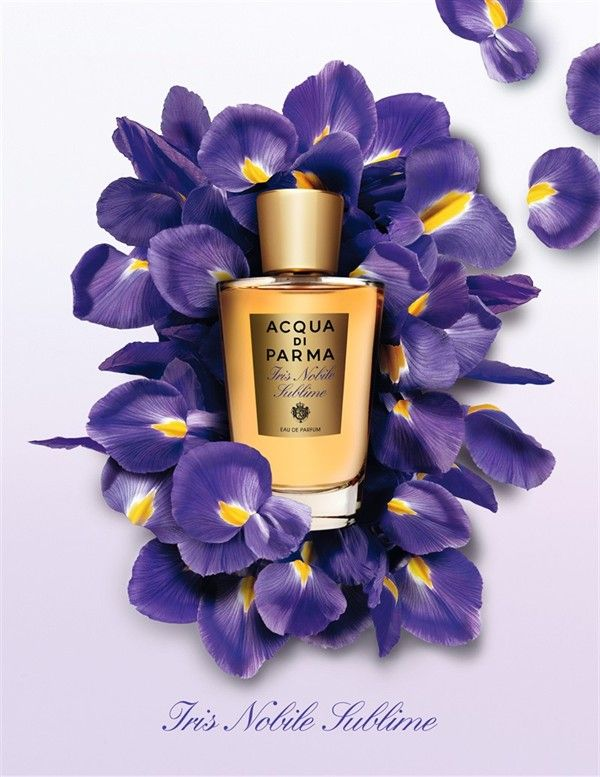Acqua Di Parma Iris Nobile Sublime via luxury-insider #Fragrance #Iris_Nobile_Sublime