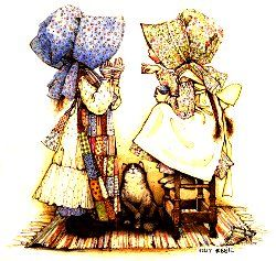 Holly Hobbie ~ I loved this as a child, I had the stationery and dolls (made by my grandmother).  Sweetness...