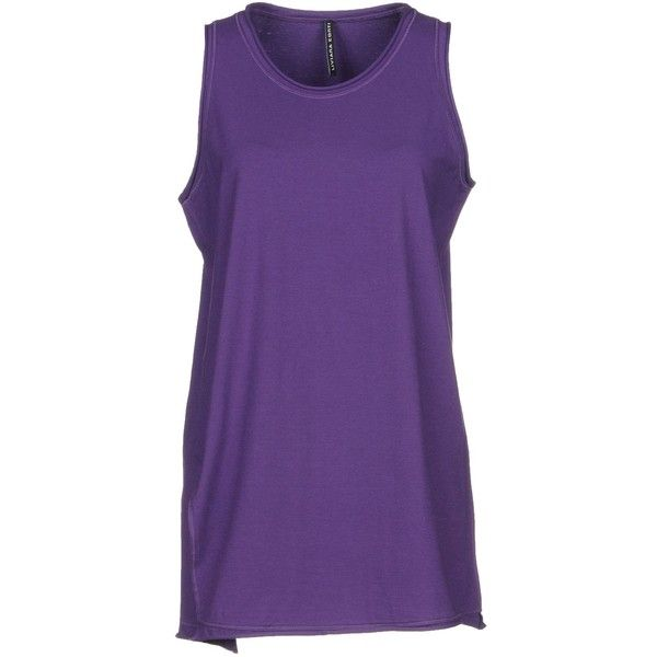 Liviana Conti Vest (195 PEN) ❤ liked on Polyvore featuring outerwear, vests, purple, purple waistcoat, vest waistcoat, cotton vest, purple vest and sleeveless vest