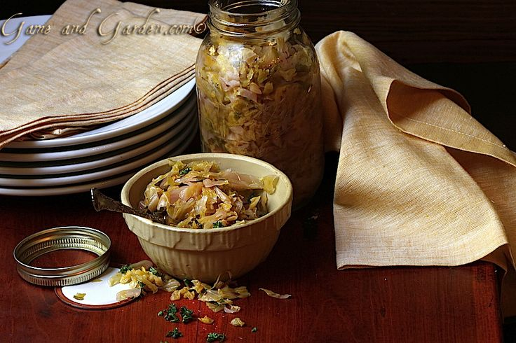 How to Ferment Cabbage: Making Sauerkraut Who doesn't enjoy a large scoop of sauerkraut on their all natural hot dog in the summer, or their cowpeas and collard greens in the winter. We use sauerkraut on something everyday to add a different dimension of flavor to our meals; even salads …www.gameandgarden.com